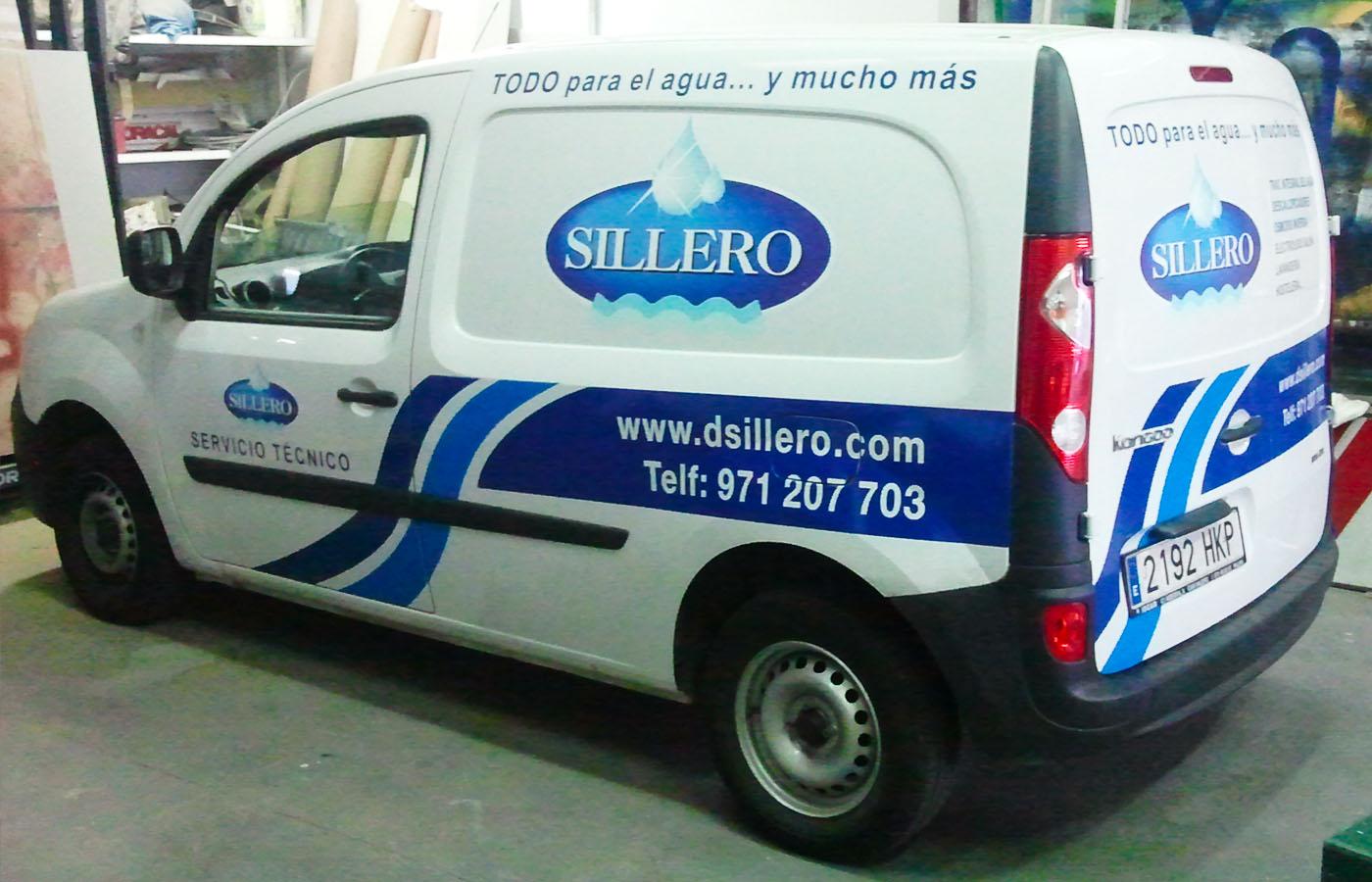 furgoneta Sillero