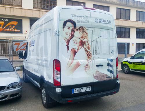 furgoneta grupo Duran